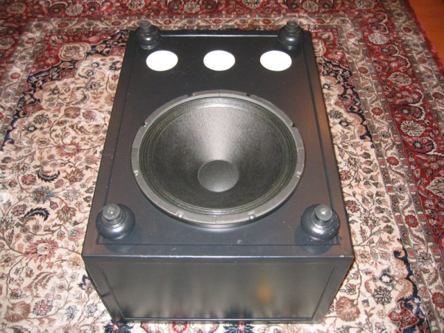 Bottom of subwoofer